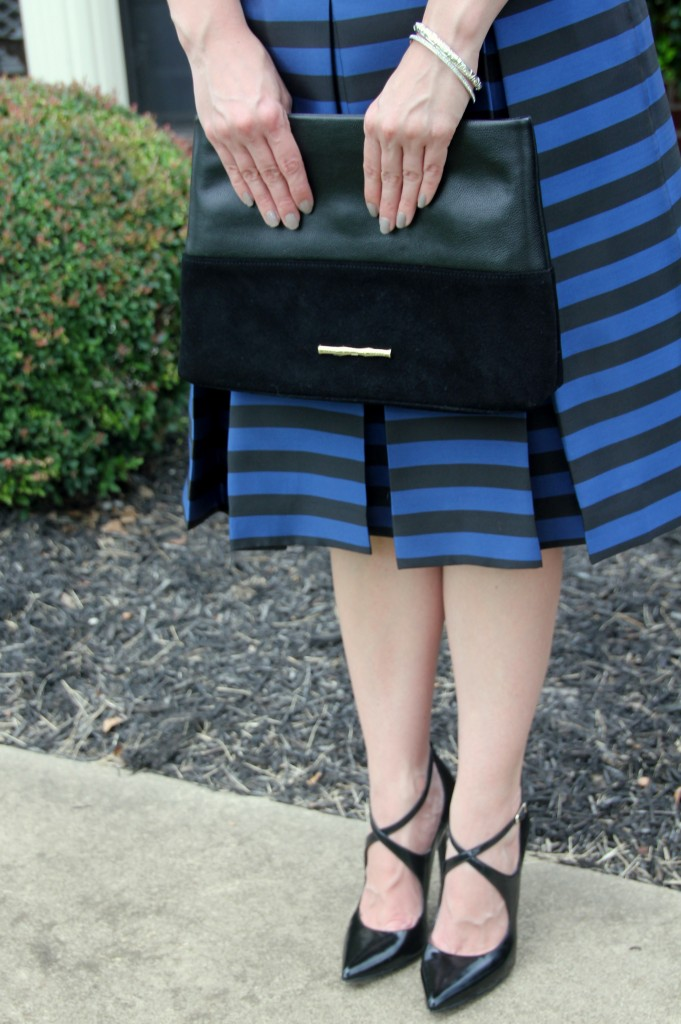 Elaine Turner Clutch / Lady in Violet Blog
