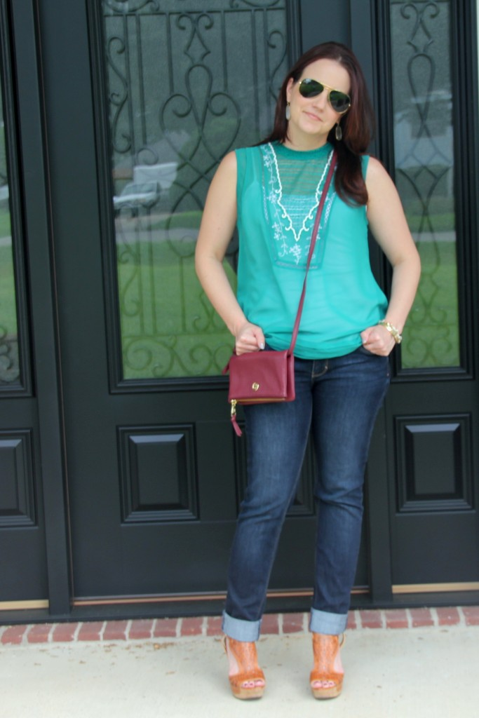 Summer Casual / Lady in Violet Blog