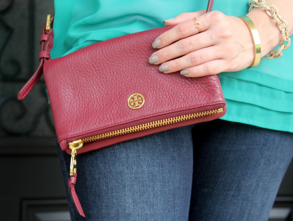 Tory Burch Cross-body / Lady in Violet Blog