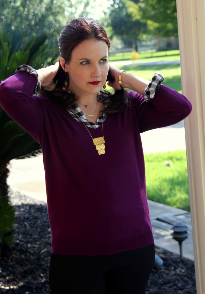 Work Style Layering Look