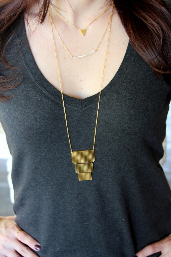 Gorjana Laws of layering necklaces