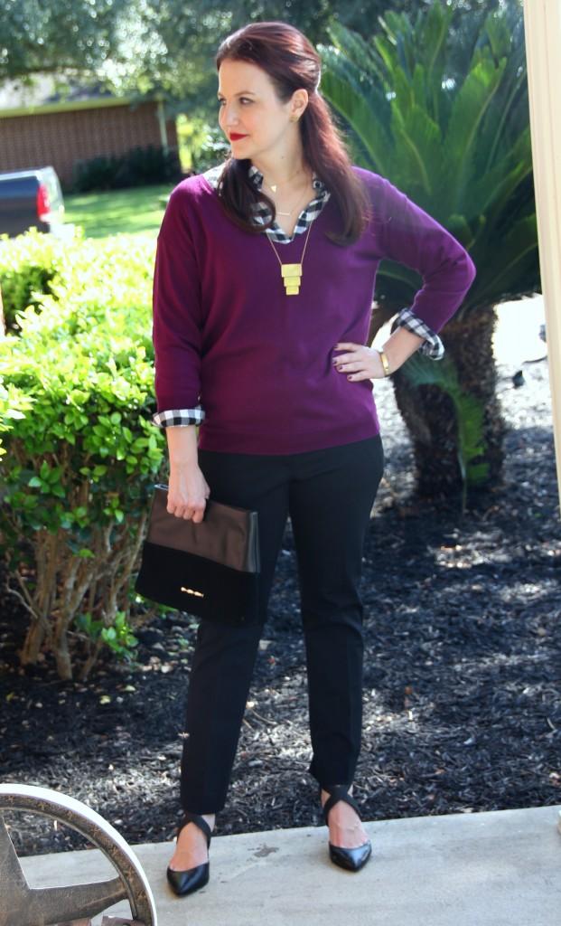 Fall Work Style Wear Layering