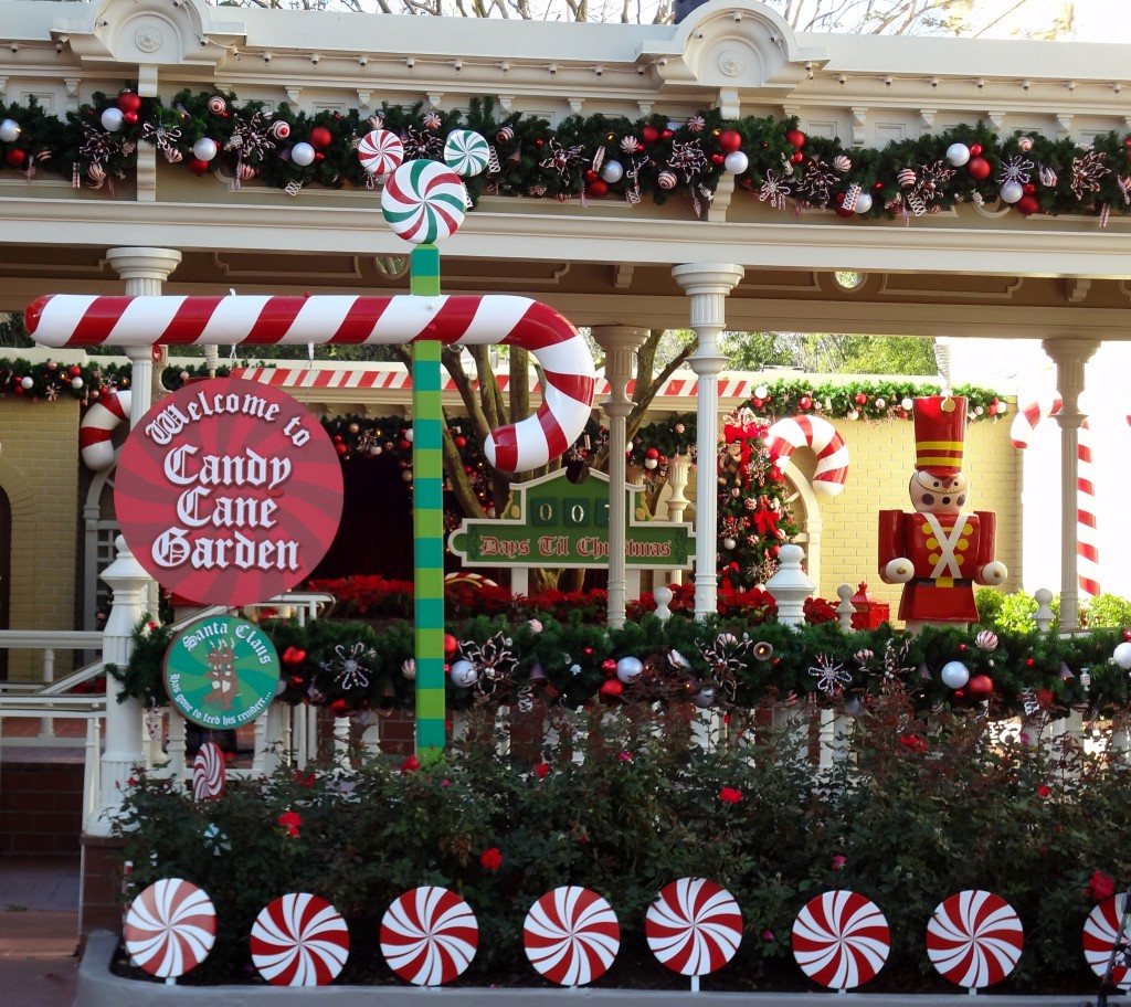Walt Disney World Magic Kingdom Candy Cane Garden