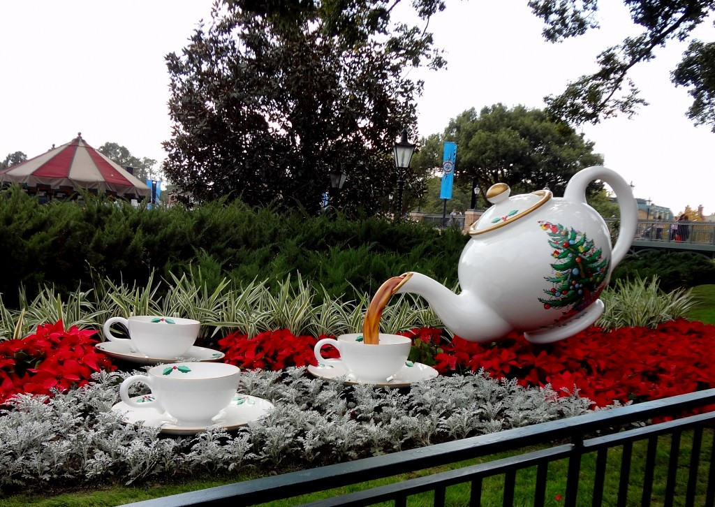 Walt Disney World Epcot Christmas Tea England