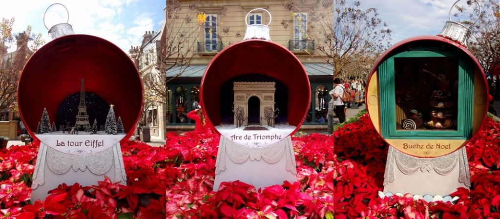 Walt Disney World Epcot France Christmas