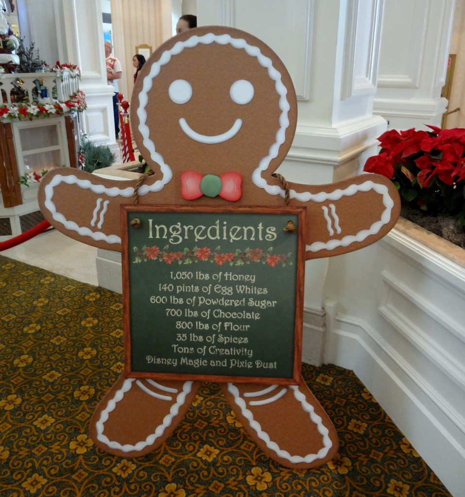 Walt Disney World Gingerbread House