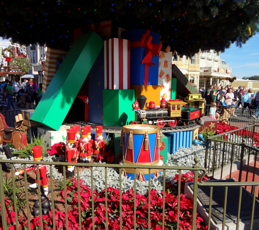 Walt Disney World Christmas Trees - Magic Kingdom