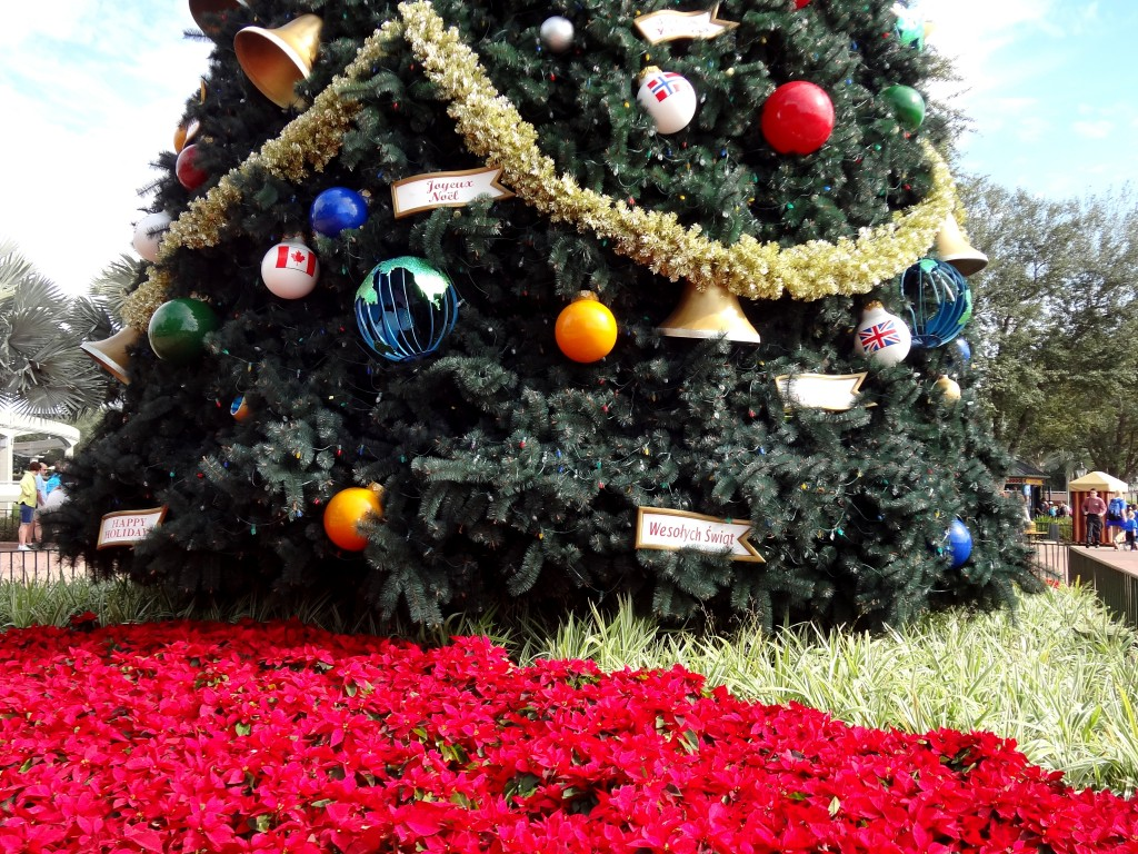 Walt Disney World Christmas Trees - Epcot