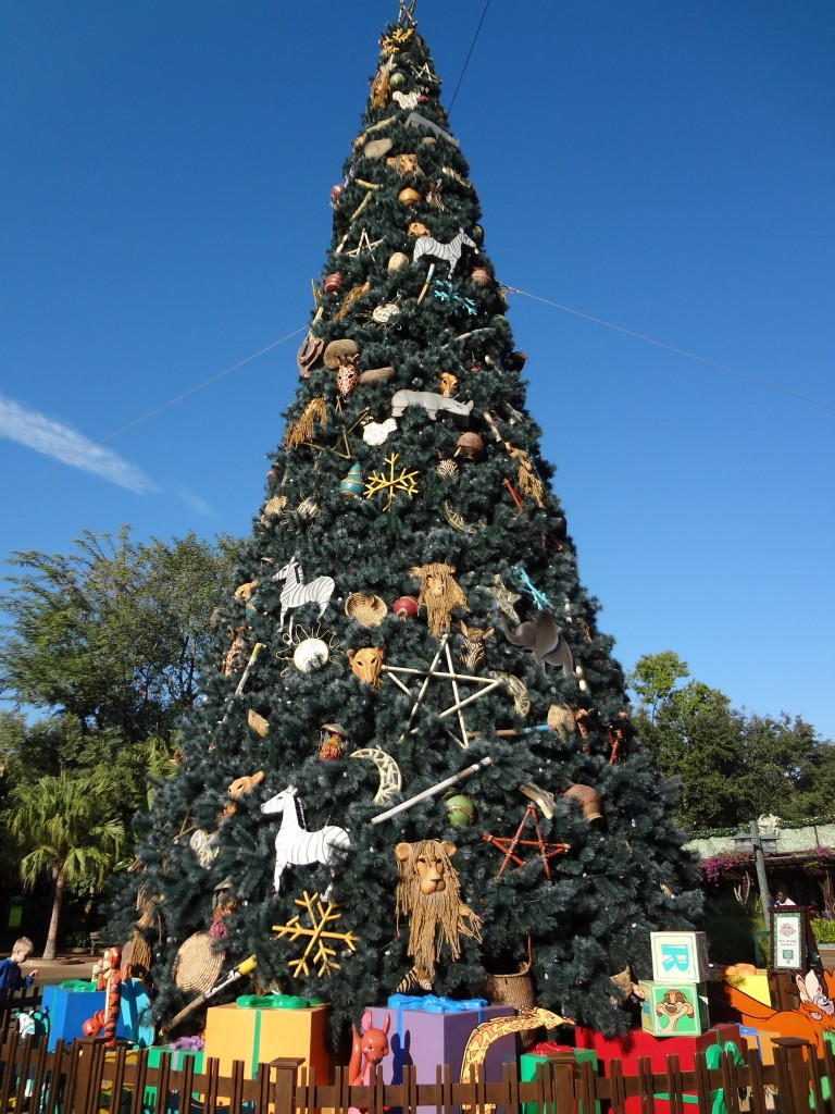 Walt Disney World Christmas Trees - Animal Kingdom