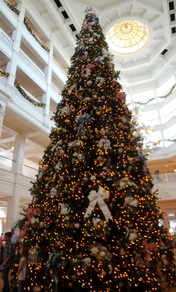 Walt Disney World Christmas Trees - Grand Floridian