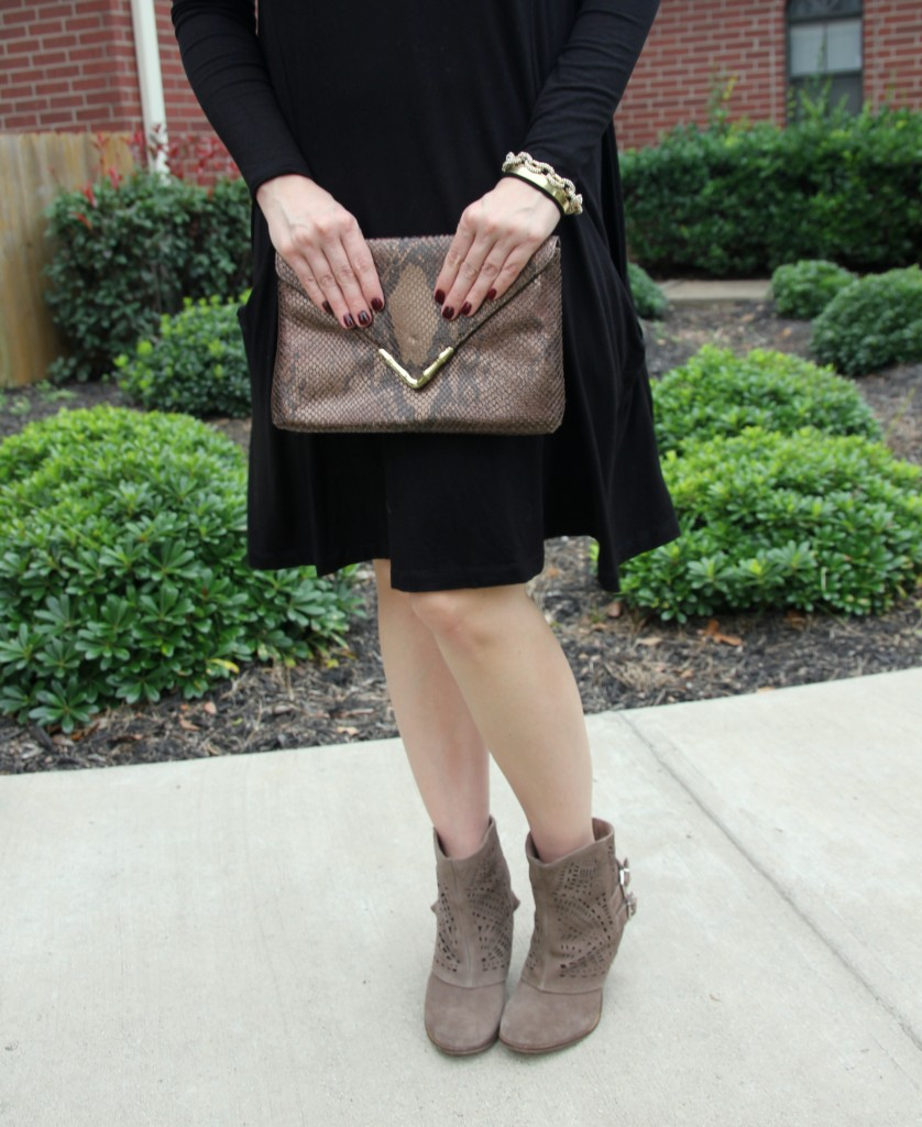 Elaine Turner Bella Clutch, Naughty Monkey Booties