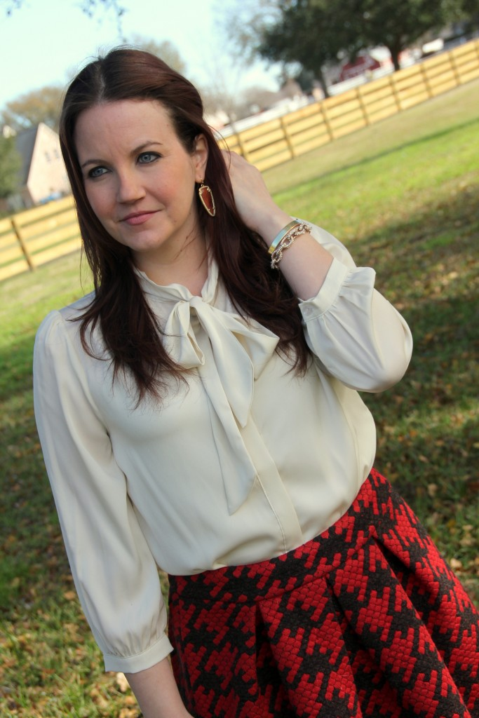 Modcloth Bow Top Blouse - perfect for the office outfit