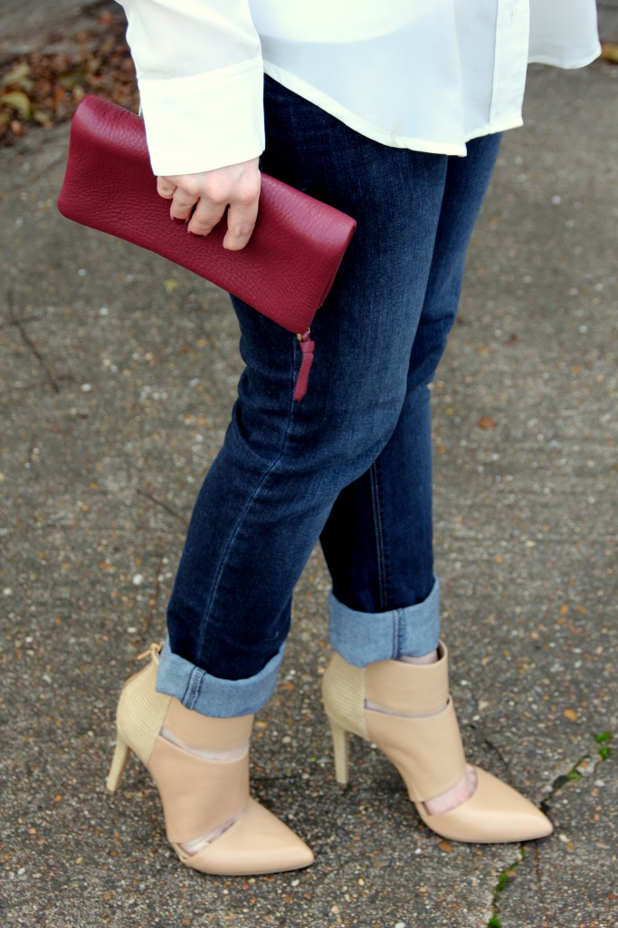 Brunch Outfit Idea - Skinny jeans and heels