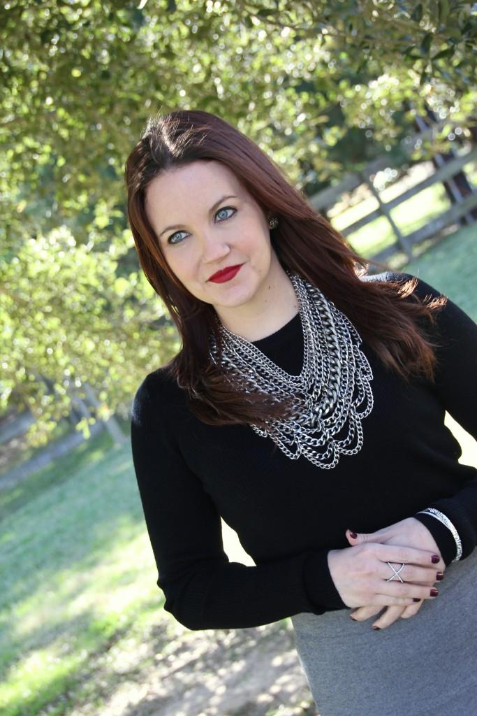 Baublebar Courtney Bib in Silver, great statement necklace!