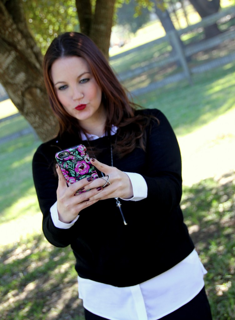 iPhone 6 Sonix Case - just another outfit selfie