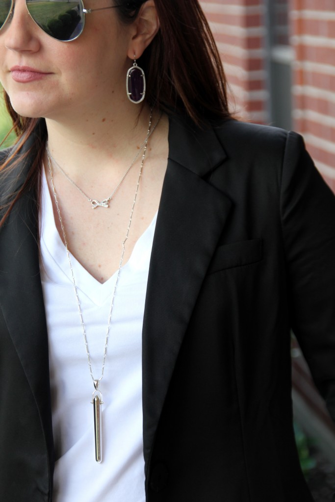 Kate Spade Bow Necklace and Stella and Dot Rebel Pendant