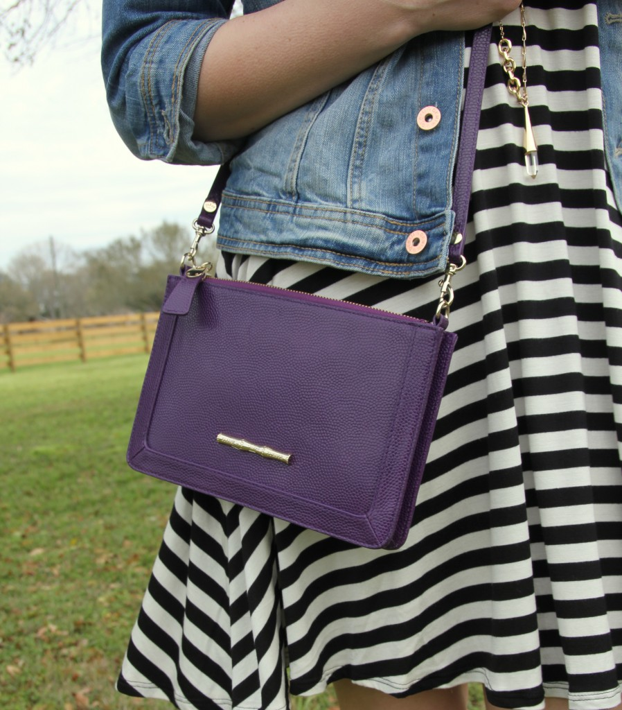 Elaine Turner Colbie Crossbody Bag | Lady in Violet