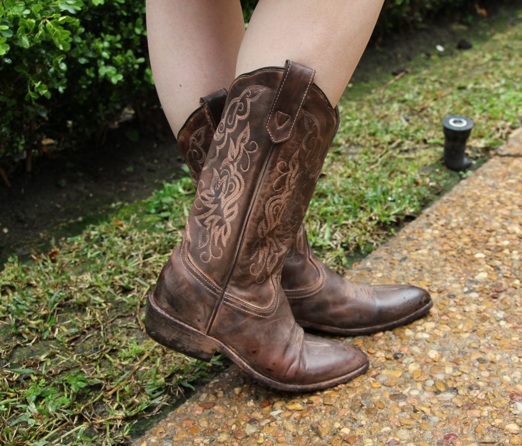 Bed Stu Western Cowboy Boots