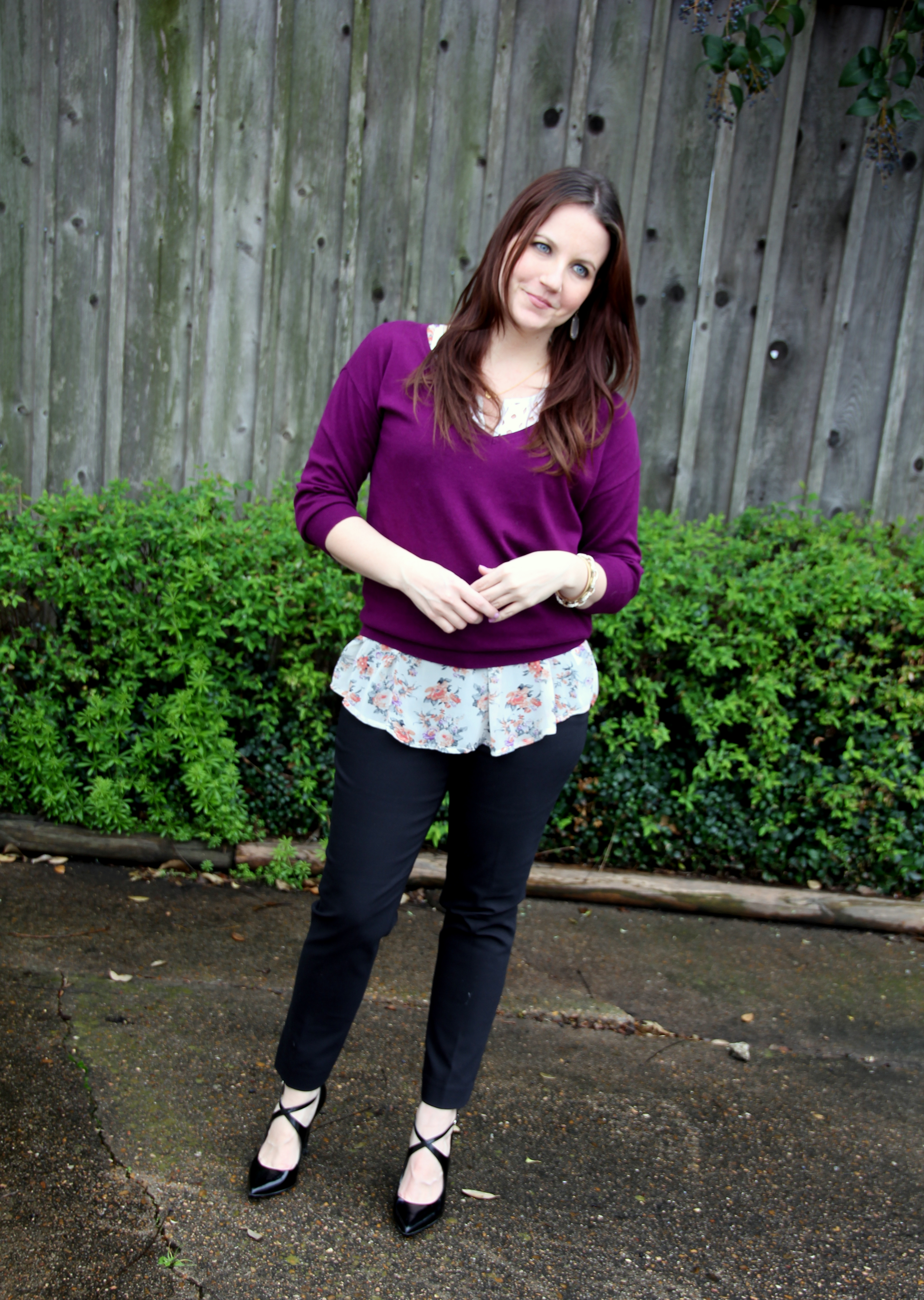 Mixing And Matching Lady In Violetlady In Violet