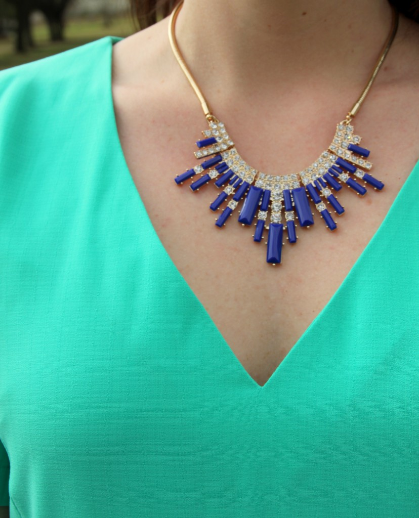 Perry Street statement necklace, rocksbox review with discount code!