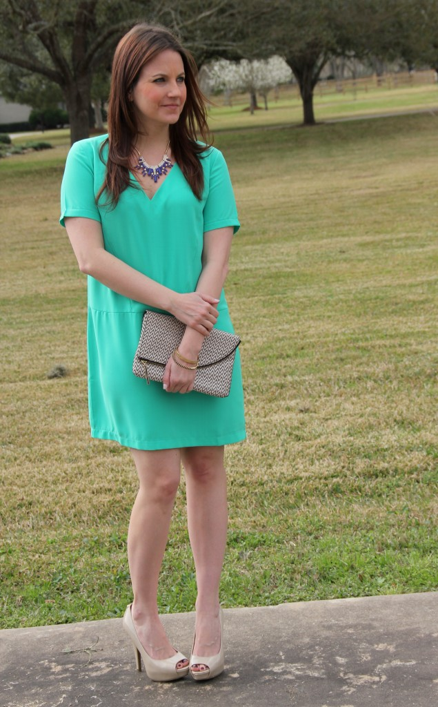 Perfect Spring look and easter dress!  Lady in Violet Blog