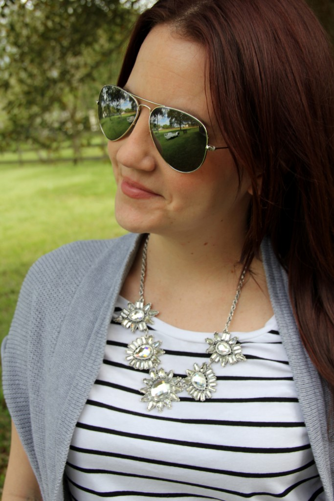 Perry Street Statement Necklace | Lady in Violet
