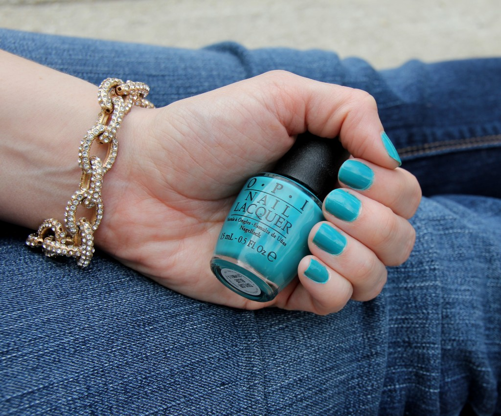 OPI Nail Polish in Taylor Blue | Lady in Violet