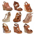 Spring Wish List: Cognac Wedges