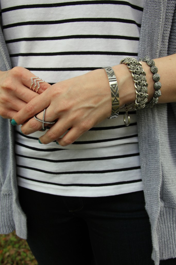 Arm Candy!  House of Harlow, Stella and Dot, Modcloth Bracelets | Lady in Violet