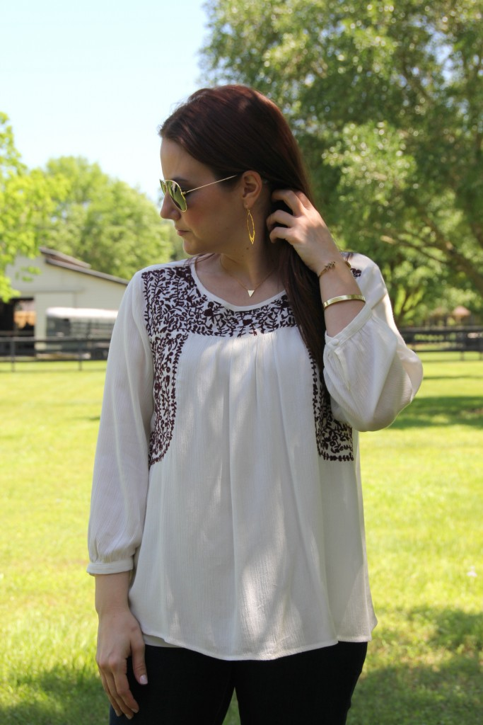 Rocksbox Jewelry from Gorjana and House of Harlow | Lady in Violet