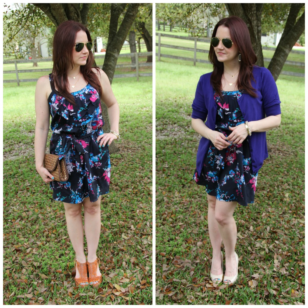 How to Restyle a dress from weekend to the office | Lady in Violet