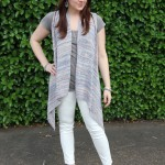 Sleeveless Cardigan & More White Denim