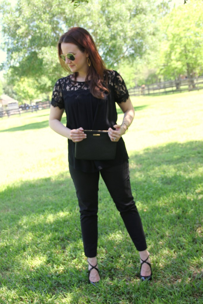 How to Wear Dark Colors in Spring | Lady in Violet