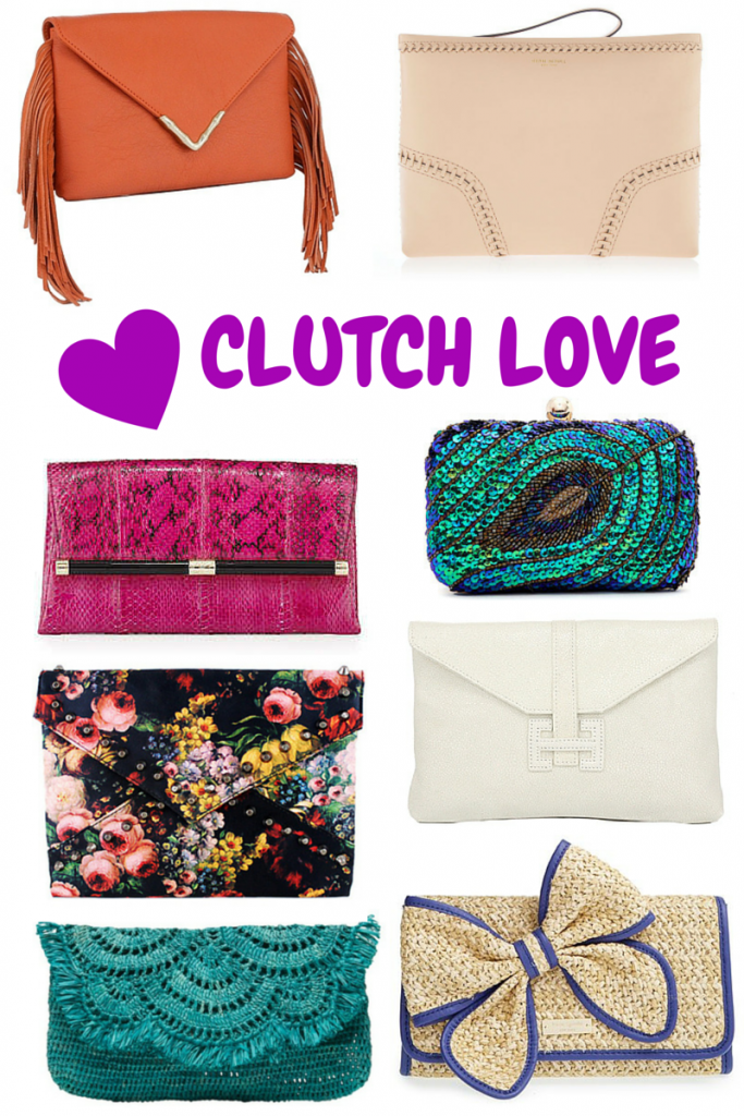 Clutch Purses | Lady in Violet