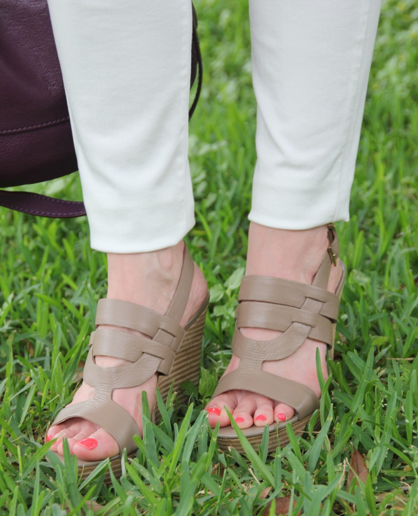 Sole Society Jenny Wedges | Lady in Violet