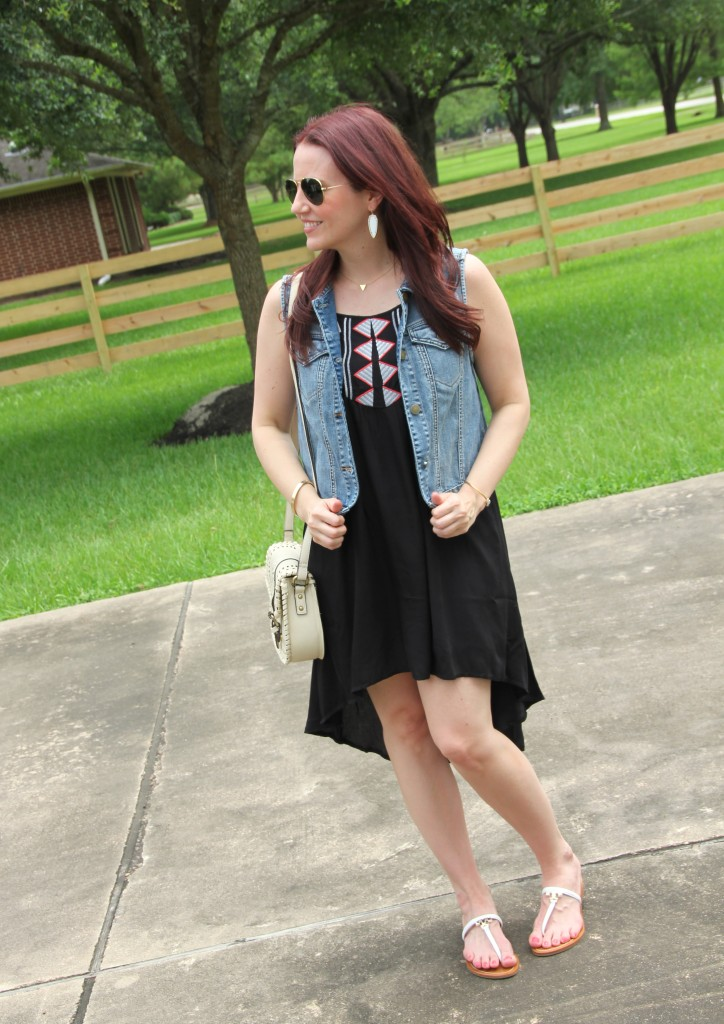 Summer Casual Outfit | Lady in Violet
