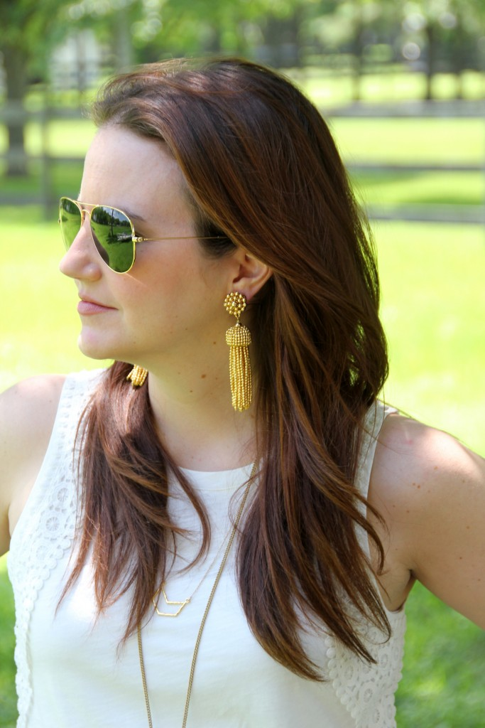 Lisi Lurch Tassel Earrings | Lady in Violet