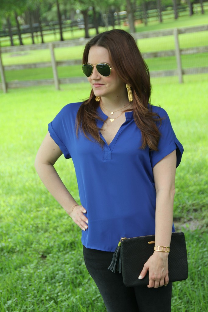 Weekend outfit Idea - casual and fancy | Lady in Violet