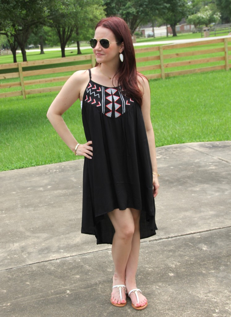 BB Dakota High/Low Dress perfect for summer | Lady in Violet