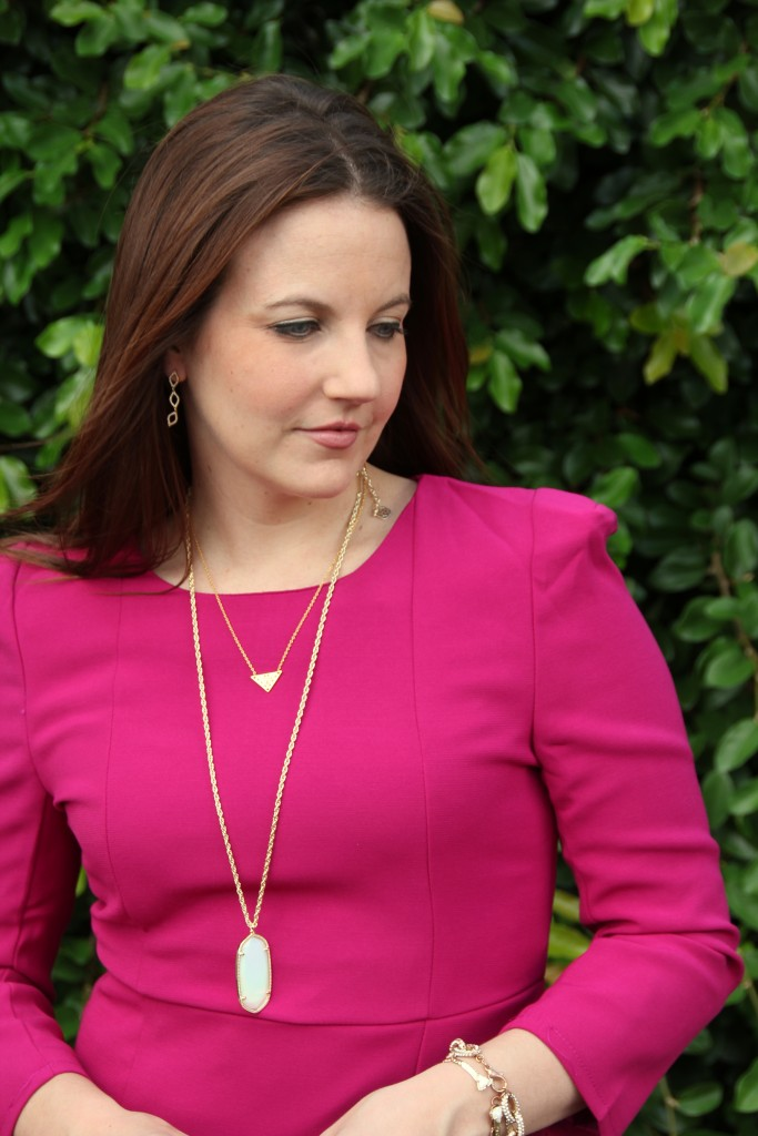 Layering Gold Necklaces | Lady in Violet