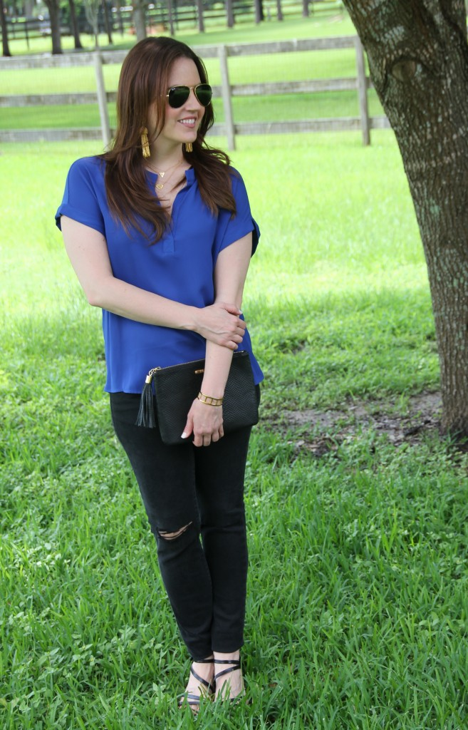 Weekend Outfit - Dressed up casual | Lady in Violet