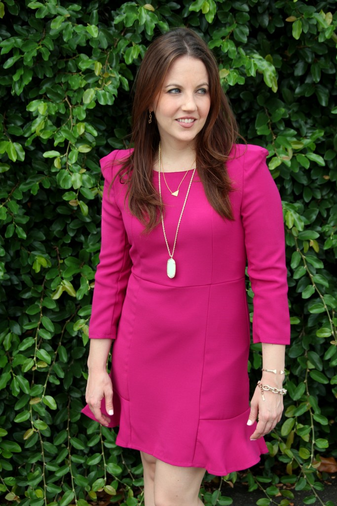 Wedding Guest Outfit Idea | Lady in Violet
