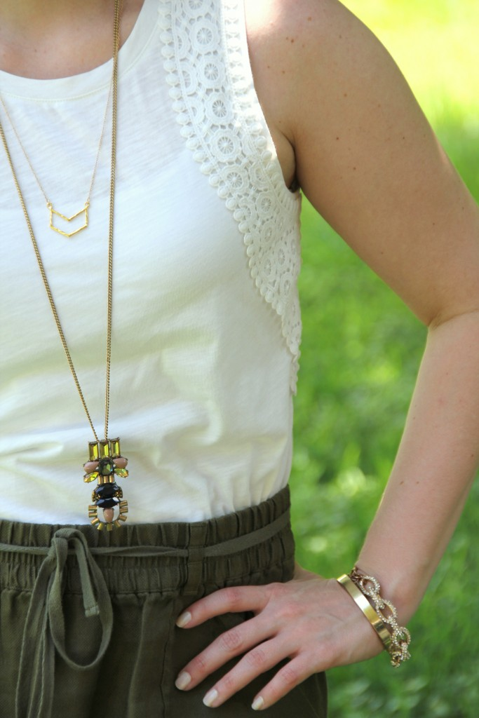 Layering Necklaces | Lady in Violet