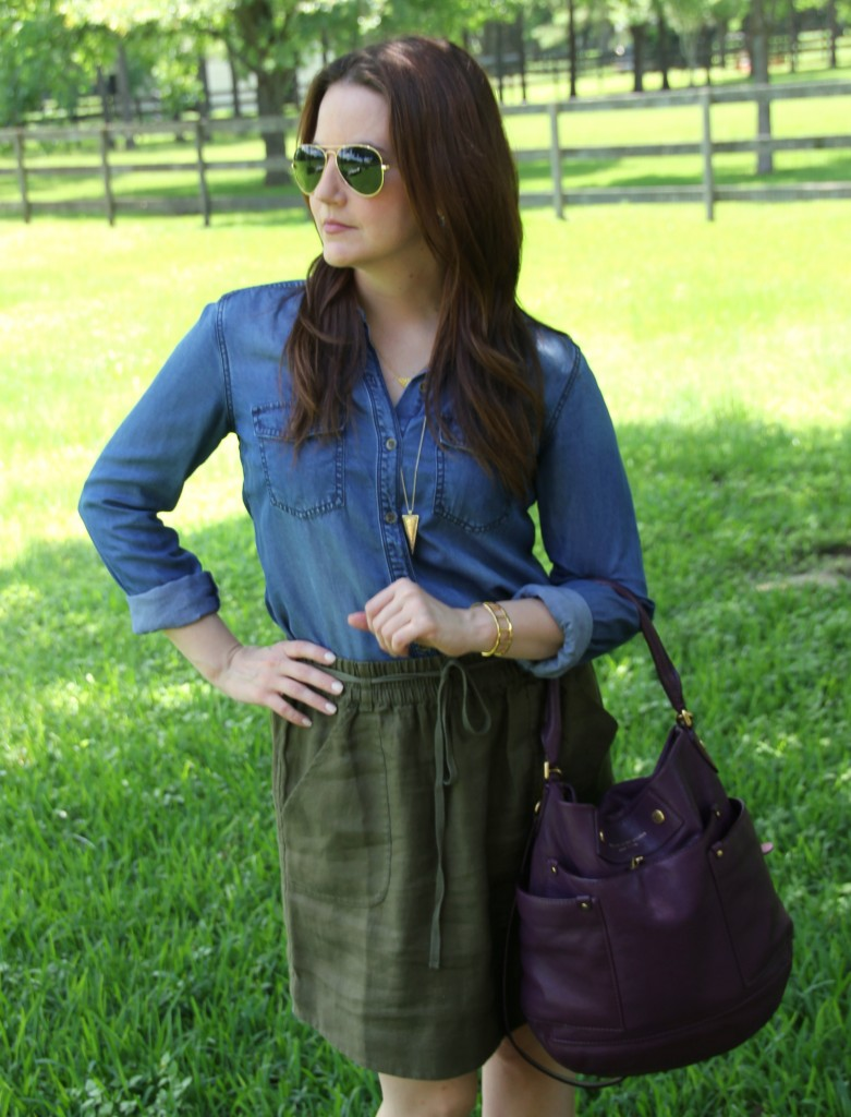 Casual Work Look | Lady in Violet