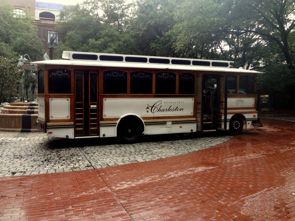 Charleston Trolley | Lady in Violet
