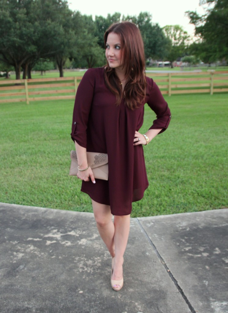 Fall Outfit Idea | Lady in Violet