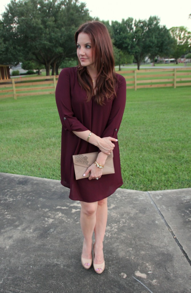 Fall Outfit Idea for Work | Lady in Violet