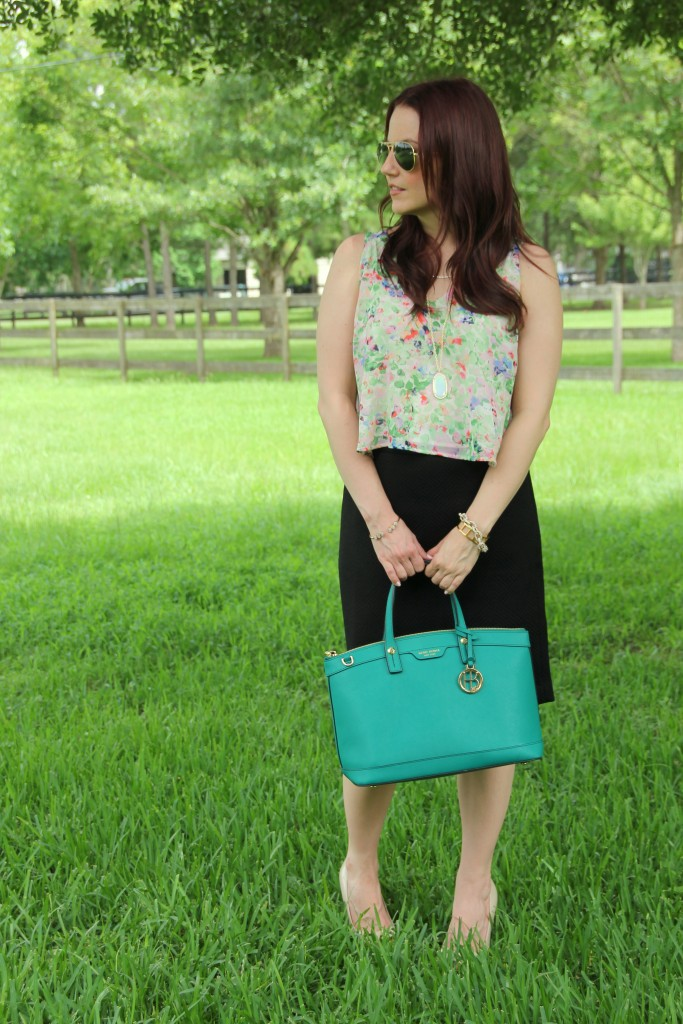 Summer Office Outfit | Lady in Violet