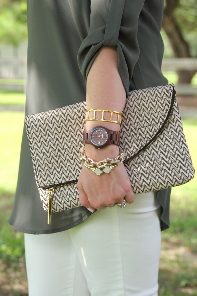 Gold Arm Stack | Lady in Violet #jordwatch