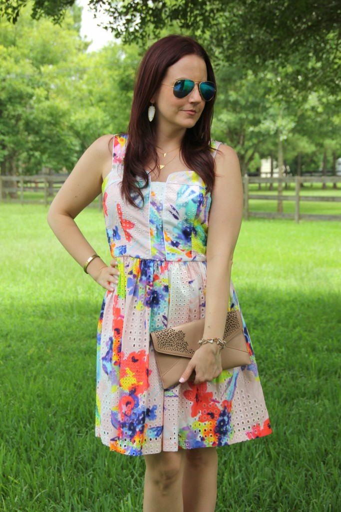 Pretty Summer Dress | Lady in Violet